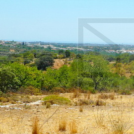 Large plot in Faro Algarve of 40.000 m2 for construction of 8 villas in Bordeira Estoi Faro