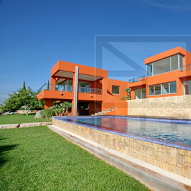 Algarve Ultra modern villa in the hill near Vilamoura