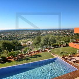 modern villa views algarve