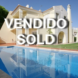395.000 Villa in Pinhal Golf Course and Hilton Hotel in Vilamoura