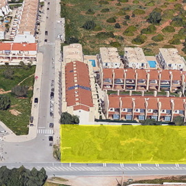 € 429.000 Bulding site for 20 townhouses in Boliqueime